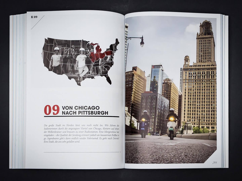 Auf der Vespa durch die USA > Buch
