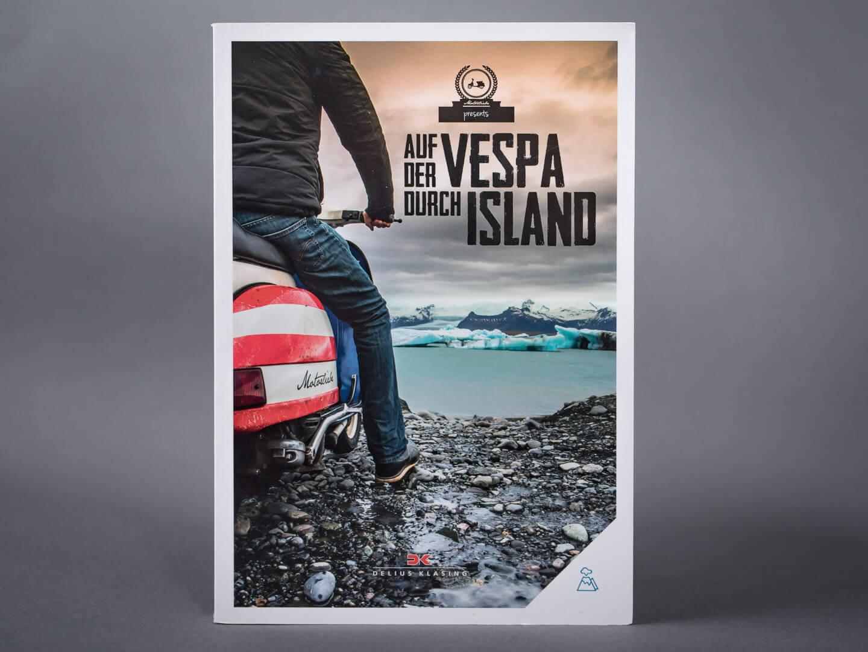 Auf der Vespa durch Island > Buch, Titel